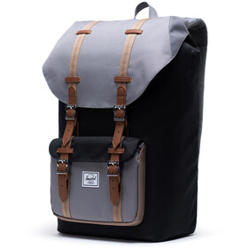 Herschel Little America Sac à dos, black/grey/pine bark/tan